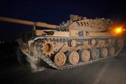 حمله زمینی ارتش ترکیه به شمال شرق سوریه آغاز شد