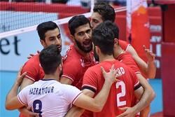 والیبال ایران و تونس