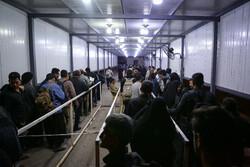 بازگشت ٧۰ درصد از زائران اربعین مرزهای خوزستان به کشور