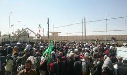 استقبال زوار از مرز خسروی عراقیها را غافلگیر کرد