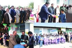 توزیع ۴۵ هزار جلد دفتر مشق بین دانش آموزان سیل زده مازندران