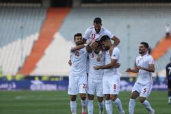 برد پرگل تیم ملی ایران مقابل کامبوج در نیمه نخست/ سردار هتتریک کرد