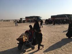 ورود اتوبوسهای ایرانی به داخل عراق/چذابه چگونه به آرامش رسید