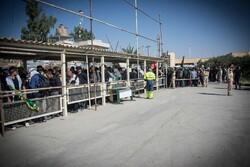 ۱۴۵ هزار زائر از مرز خسروی عازم کربلا شدند