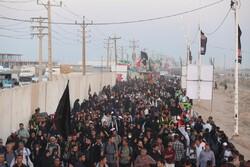 تردد بیش از ۲ میلیون و ۲۰۰ هزار نفر از مرزهای خوزستان