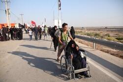 فیلمی از بازگشت زائران در مرز شلمچه