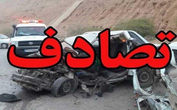 تصادف در آزادراه کرج/ چهار نفر مصدوم شدند