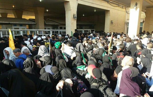 خروج ۲۵ هزار زائر از مرز خسروی