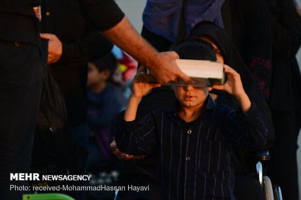 تردد زائران اربعین حسینی از مرز شلمچه