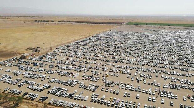 تکمیل ظرفیت پارکینگ های شهر مهران/پارکینگ اربعین هنوز ظرفیت دارد