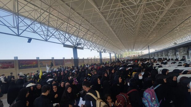 ایران کی سرحدوں سے اب تک 2 ملین زائرین عراق پہنچ گئے ہیں