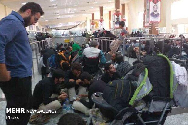 ۳۰۰برگ عبور توسط کنسولگری ایران در کربلا صادر شد