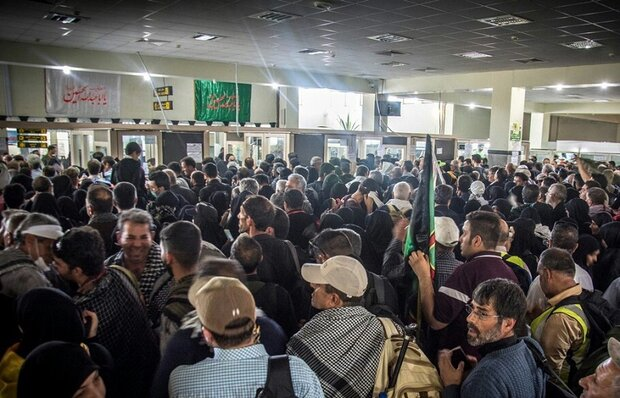۱۰۰ هزار زائر از مرزهای چهارگانه ایران عبور کردند