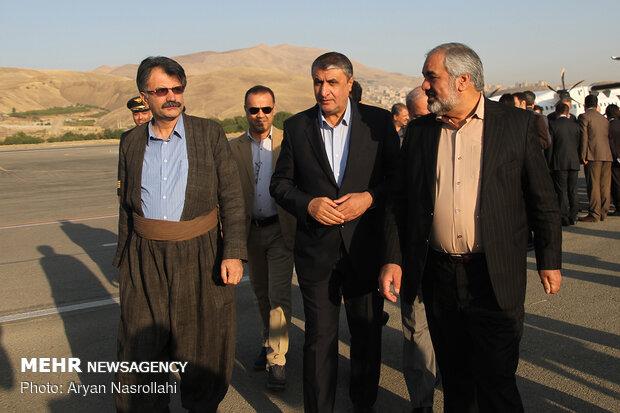 سفر وزیر راه و شهرسازی به استان کردستان