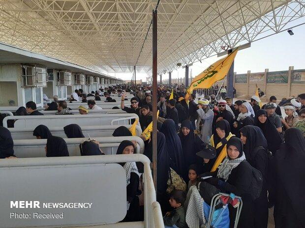 وضعیت تردد در عصر امروز جمعه از مرز مهران