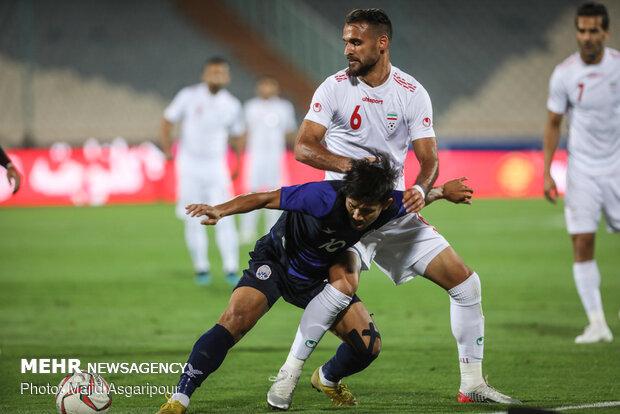 دیدار تیم های ملی فوتبال ایران و کامبوج