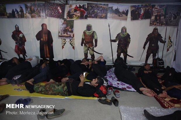 سیل زائران اربعین در مرز شلمچه