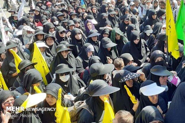 مہران کی سرحد سے حسینی زائرین کا عراق میں داخلہ جاری