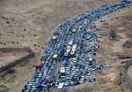 ترافیک راه های منتهی به مرزهای غربی کشور پرحجم است