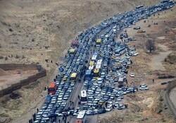 ایلام و کرمانشاه بار ترافیکی سنگینی را شاهد هستند