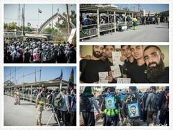 استقبال زائران حسینی از خسروی غافلگیرکننده بود/ خروج بیش از ۲۵ هزار زائر از مرز