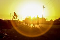 """""""مشاية"""" مسيرة الاربعين الحسيني في المدن الجنوبية للعراق / صور"""