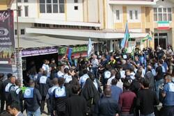 Azerbaycanlı zairlerden Hz. İmam Hüseyin (a.s) için matem töreni