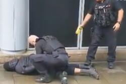 تخلیه یک مرکز تجاری در منچستر انگلیس بر اثر حادثه چاقوکشی