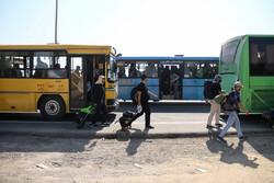 خدماتدهی حملونقل برای بازگشت زائران آغاز شده است