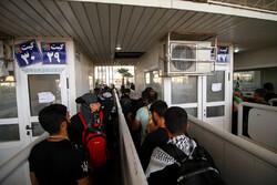 ۲۴۰ هزار زائر از مرز مهران وارد خاک عراق شدند