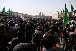 وضعیت تردد در مرز مهران طی ظهر سه شنبه/تردد ۹۰ هزار نفر