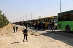وضعیت تردد طی شامگاه چهارشنبه در مرز مهران/تردد ۱۸۰ هزار نفر