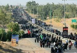 خروج ۲۸ هزار زائر اربعین از مرز خسروی