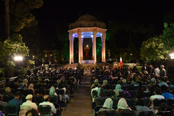 Commemorating Persian poet Hafez in Shiraz