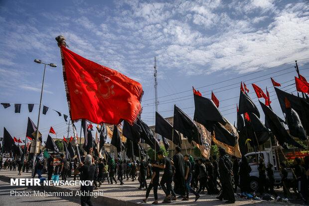 برپایی ۱۱۰ موکب الاتحاد در عراق و ایران