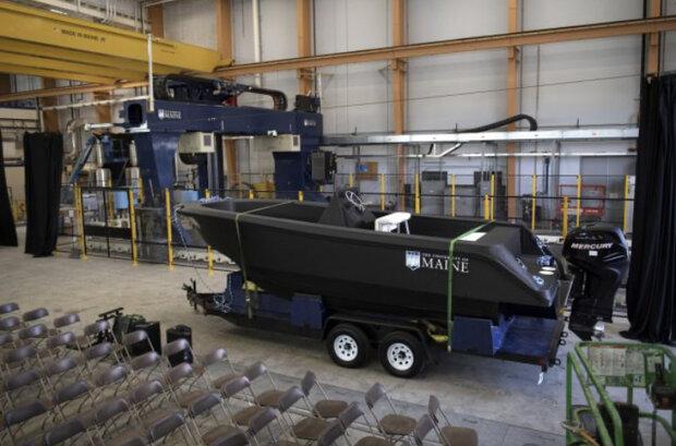 بزرگترین قایق چاپی دنیا ساخته شد