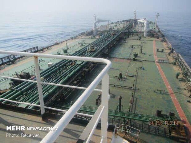 آخر الصور الملتقطة من ناقلة النفط الايرانية SABITI
