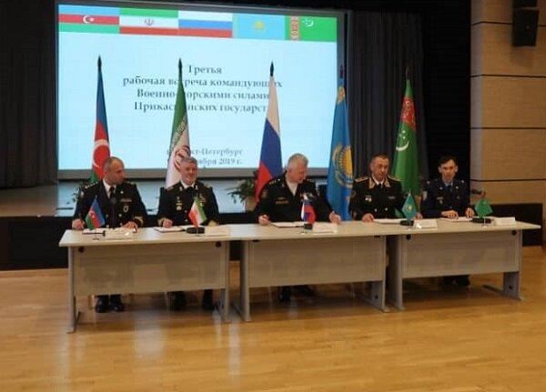 تفاهمنامه همکاری نظامی کشورهای حوزه خزر امضا شد