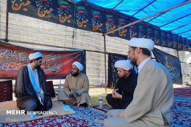 مراسم جاماندگان اربعین در مدارس صدرای خوزستان برگزار میشود