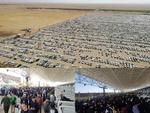 قدمهای استوار در راه حرم عشق/تردد در مهران از۱.۵ میلیون نفر گذشت