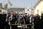 ترافیک و ازدحام جمعیت زائران برگشتی در مرز مهران