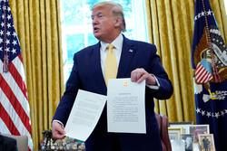 ترامپ «توافق تجاری فاز ۱» با پکن را اعلام کرد/ چین ۵۰ میلیارد دلار کالای کشاورزی از آمریکا میخرد