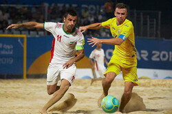 Iran soccer wins first game at 2019 Doha World Beach Games
