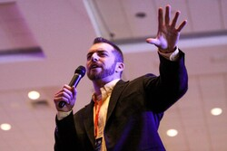 Adam Kokesh, a Libertarian Party candidate for the 2020 U.S. presidential election