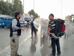 ۱۰۰۰پاکبان در مرز مهران مستقر شدند/ افزایش پاکبانان از روز شنبه