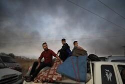 سوریهای ساکن مناطق شمالی به منازل خود بازگشتند