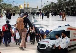 کاروان اورژانس ۱۱۵ استان بوشهر به مرز شلمچه اعزام شد