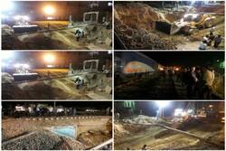 پروژه زیرگذر باغ صالح ورامین در کمتر از ۵ روز به پایان می رسد
