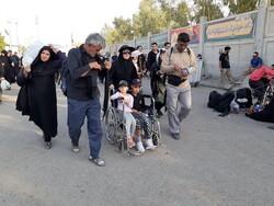 مہران سے زائرین کی روانگی کا سلسلہ جاری