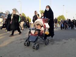 ۹۰ هزار تردد در مرز مهران ثبت شد/بازگشت زائران اوج می گیرد
